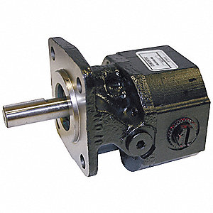 Hydraulic Gear Pump/Motor with 0.323 Displacement (Cu. In./Rev.)