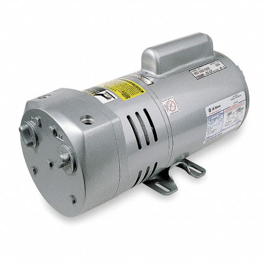 3/4 hp HP Compressor/Vacuum Pump; Inlet Size: 3/8 in NPT, Outlet Size: 3/8 in NPT