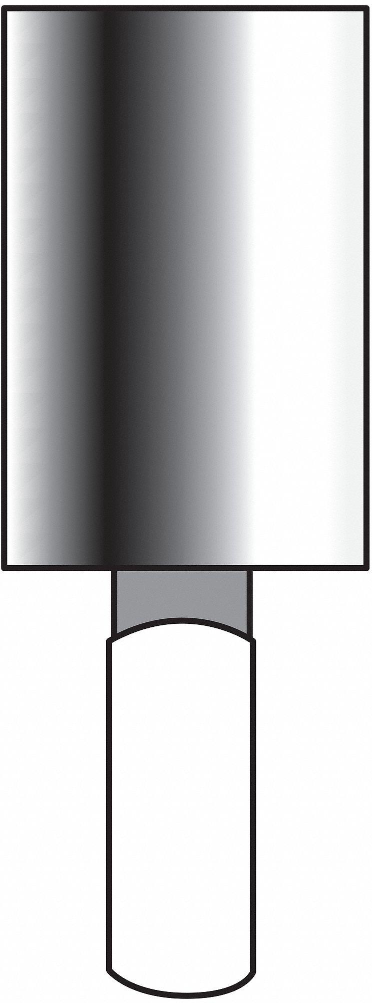 "Norton Medium Vitrified Mounted Point (1/8"" Spindle Diameter). Model: 61463624488"
