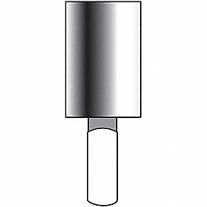 "Medium Vitrified Mounted Point, 1/4"" Spindle Dia."
