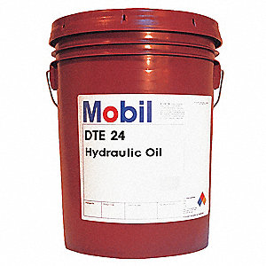 DTE 24, Premium Hydraulic Oil, 5 gal. Container Size
