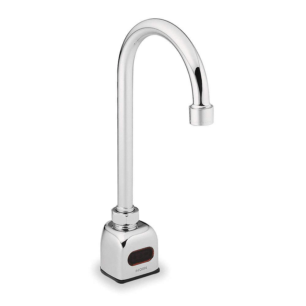 Moen Gooseneck Bathroom Faucet
