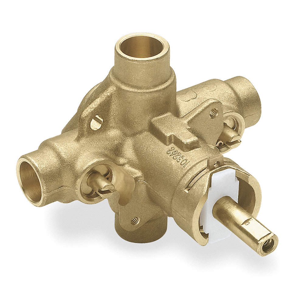 MOEN Brass Tub and Shower Valve Shower Valves, For Use With Moen ...