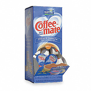 0.38 oz. Individual Liquid Coffee Creamer, French Vanilla&#x3b; PK200