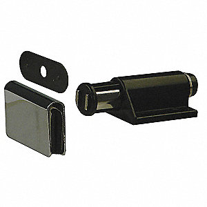 GLASS DOOR CATCH,CATCH L 1 3/32 IN