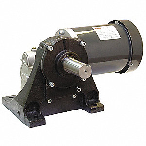 AC GEARMOTOR,RIGHT ANGLE,45 RPM