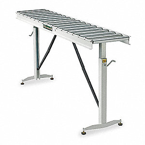 CONVEYOR TABLE,PORTABLE,BF 13 IN