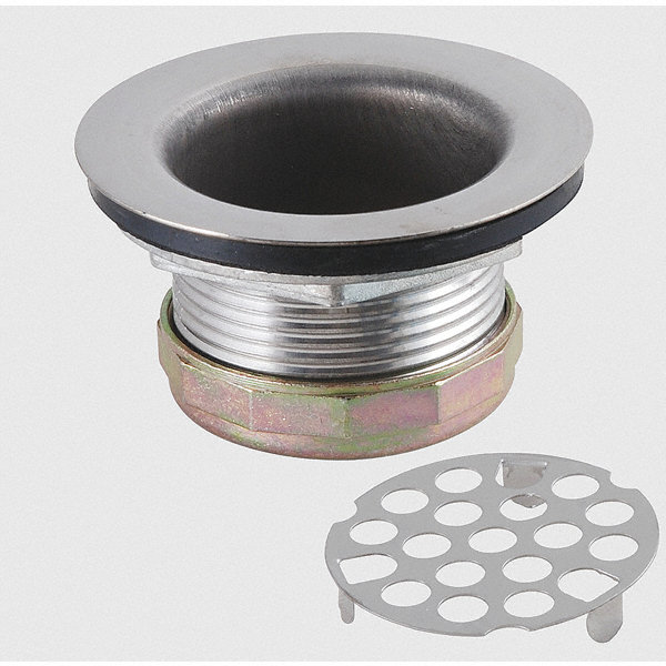Grainger Approved Sink Strainer Assembly Stainless Steel