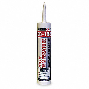Black Silicone Sealant, 10.3 oz. Cartridge