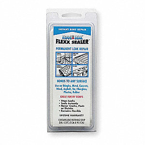 "Leak Repair Strip, 2"" x 3 ft. Size, Gray Color, Container Type: Roll"