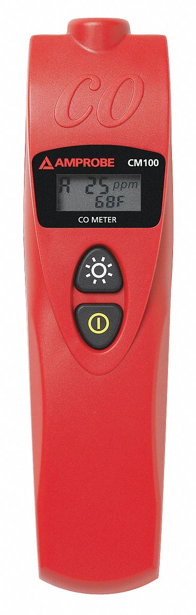 Carbon Monoxide Meter, Range 0 to 999 PPM