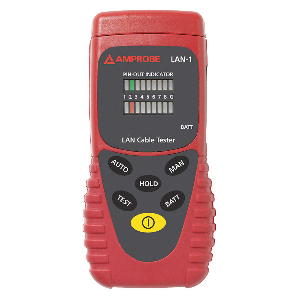 Amprobe Lan Cable Tester Display Led Adapter Type Rj 45 4fkt1 Zoom Out Reset Put Photo At Full Then Double Click