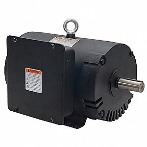 dayton 7 1 2 hp commercial duty air compressor motor