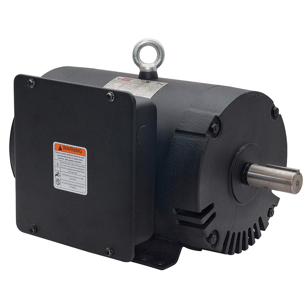 DAYTON 7-1/2 HP Commercial Duty Air Compressor Motor,Capacitor-Start ...