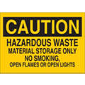 Chemical, Gas or Hazardous Materials, Caution, Polyester, 7