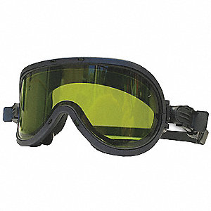 Protective Goggles, Green Lens Color