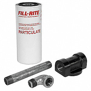 "Filter Head Fuel Filter Housing, 3/4"" NPT"