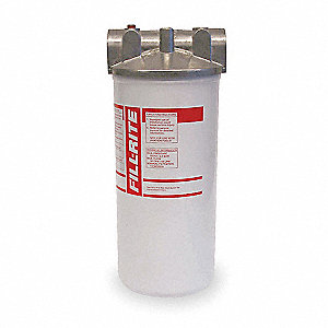 "Filter Head Fuel Filter Housing, 1"" NPT"