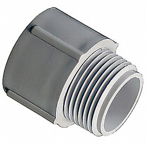 "Male Adapter,  Conduit Fitting Type Adapter,  Conduit Trade Size 3/4"",  Conduit Fitting Material PVC"