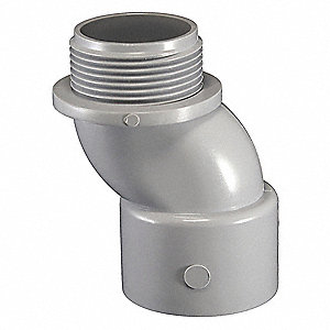 "Meter Offset,  Conduit Fitting Type Connector,  Conduit Trade Size 2"",  Conduit Fitting Material PVC"