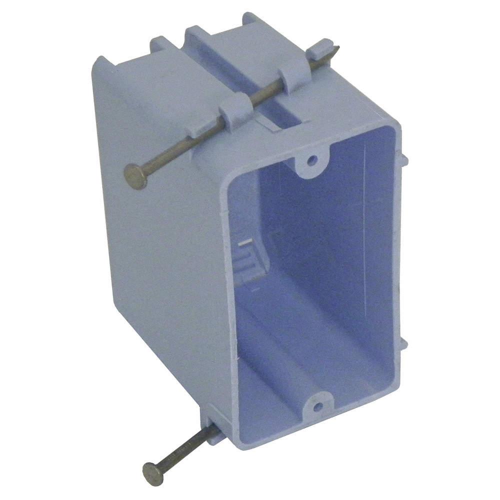 CANTEX Electrical Box, PVC, 3-1/2\