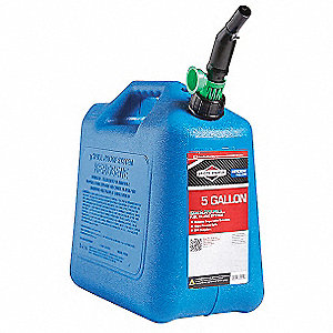 Kerosene Can,5 Gal.,Blue