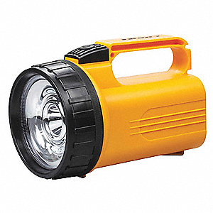 Lantern, LED, Plastic, Maximum Lumens Output: 160, Yellow, 7.40""