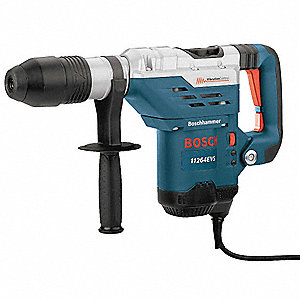 SDS Max Rotary Hammer Kit, 13.0 Amps, 1700 to 2900 Blows per Minute, 120 Voltage