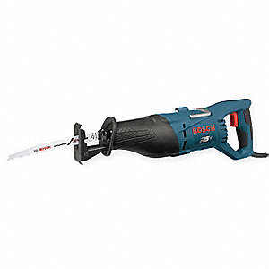 Corded Reciprocating Saw, 11.0 Amps, 0 to 2700 Strokes per Minute, 8 ft. Cord, Straight Cutting