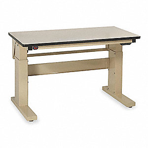 "Workbench,ESD Laminate,60"" W,30"" D"