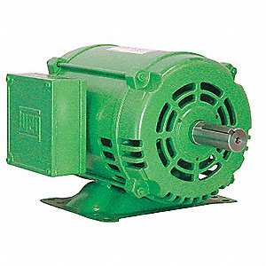 5 HP General Purpose Motor,3-Phase,1755 Nameplate RPM,Voltage 575,Frame 184T