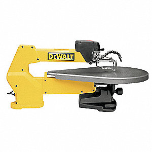 "20"" Variable Speed Scroll Saw, 1.3 Amps, Cutting Capacity: 2"" @ 90 Degrees , 13/16"" @ 45 Degrees"