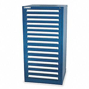stanley vidmar modular drawer cabinet,59 in. h,30 in. w - 4ge48