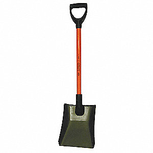 Nonconductive Square Point Shovel
