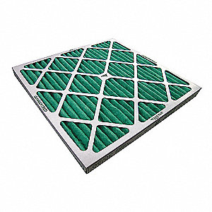 20x20x2, Paint Collector Filter Pad, Standard Capacity Paper, Package Quantity 12