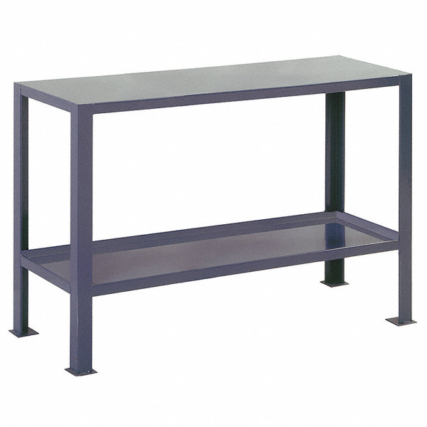 Edsal fixed height work table steel 30 depth 32 for Table th fixed width