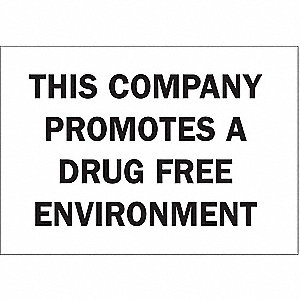 "Safety Incentive and Motivational, No Header, Plastic, 10"" x 14"", With Mounting Holes"