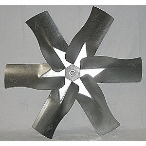 Replacement Propeller,Dia 36 In1 In Bore