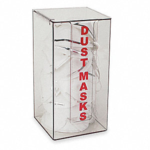 Dust Mask Dispenser,Clear