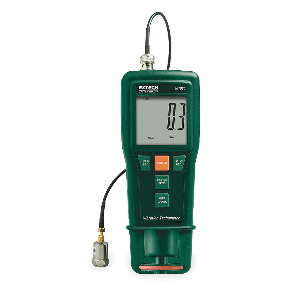 0.5 to 20 Laser Tachometer 000 rpm