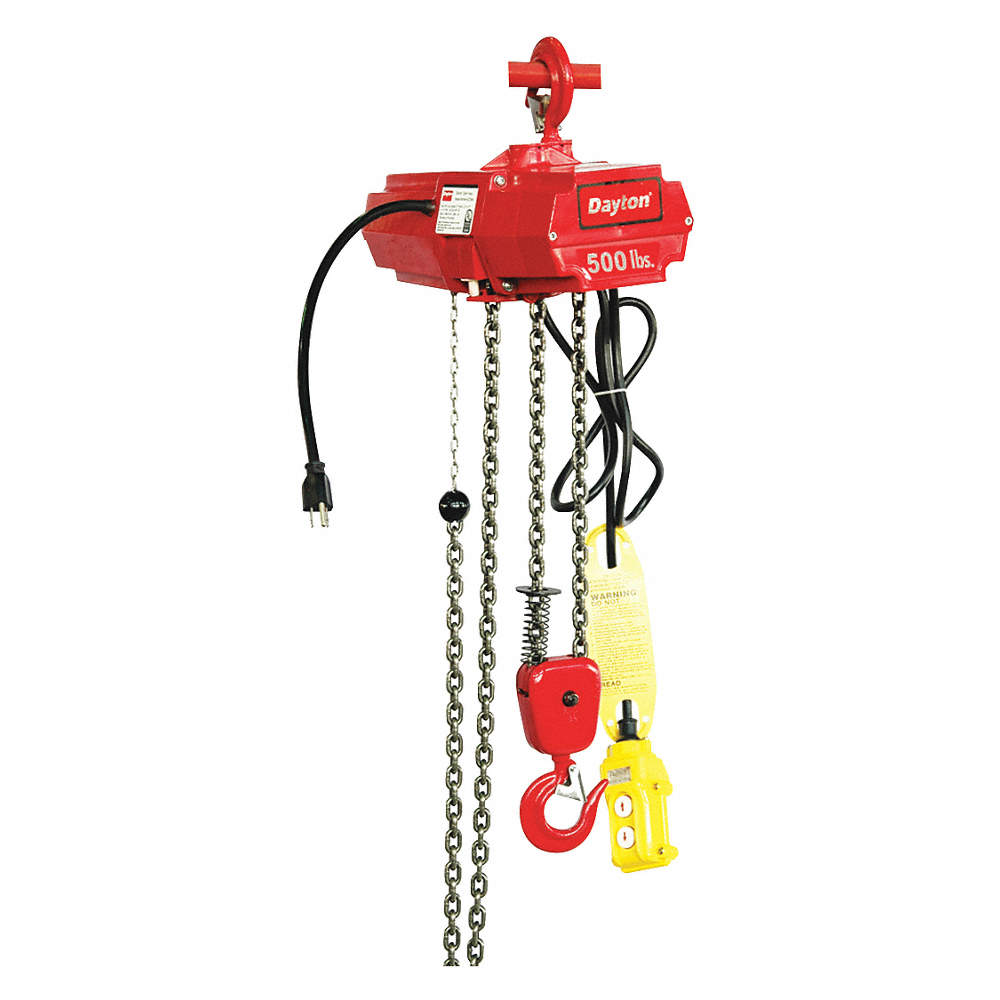H2 Electric Chain Hoist 500 Lb Load Capacity 115v 10 Ft Lift 7 Fpm Dayton Wiring Diagram Zoom Out Reset Put Photo At Full Then Double Click