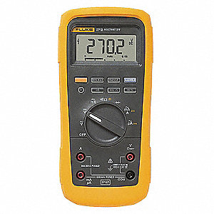 Digital Multimeter, Full Size - Advanced Features - Harsh Environment Multimeter Style, Full Size -