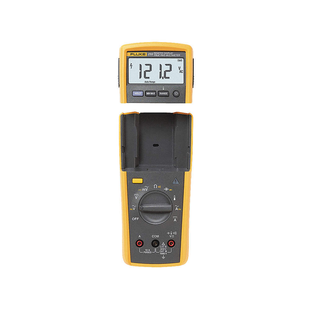 FLUKE (R) Fluke-233 Full Size - Advanced Features - Adjustable Display  Wireless Digital Multimeter,