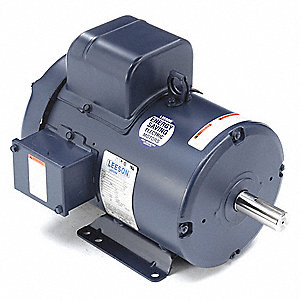 5 HP 50 Hz Motor,Capacitor-Start,1440 Nameplate RPM,220 Voltage,Frame 184T