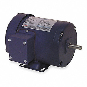 1/2 HP 50 Hz Motor,3-Phase,2850 Nameplate RPM,220/380/440 Voltage,Frame 48