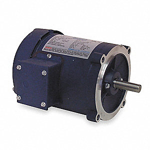 1/4 HP 50 Hz Motor,3-Phase,1425 Nameplate RPM,220/380/440 Voltage,Frame 56C