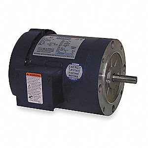 1/3 HP 50 Hz Motor,3-Phase,1425 Nameplate RPM,220/380/440 Voltage,Frame 56C