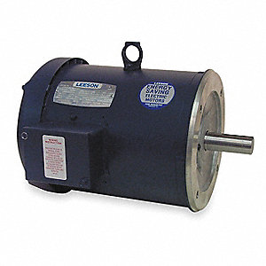 5 HP 50 Hz Motor,3-Phase,2850 Nameplate RPM,220/380/440 Voltage,Frame 184TC