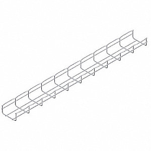 CABLOFIL 10 ft. Steel Wire Mesh Cable Tray, 10.91 lb. per 6 ft ...