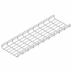 CABLOFIL 10 ft. Steel Wire Mesh Cable Tray, 29.48 lb. per 6 ft ...